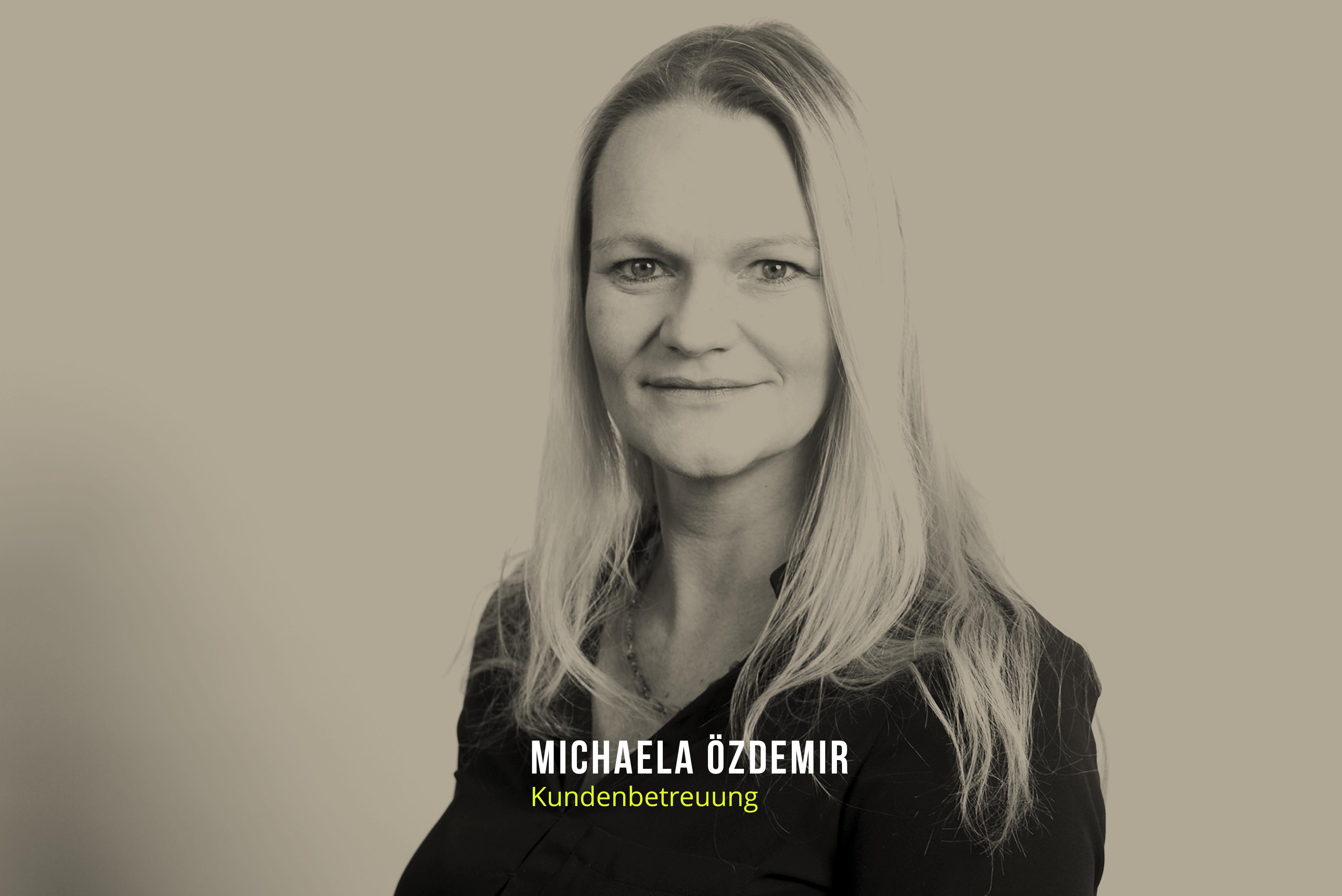 Michaela Özdemir Kundenbetreuung